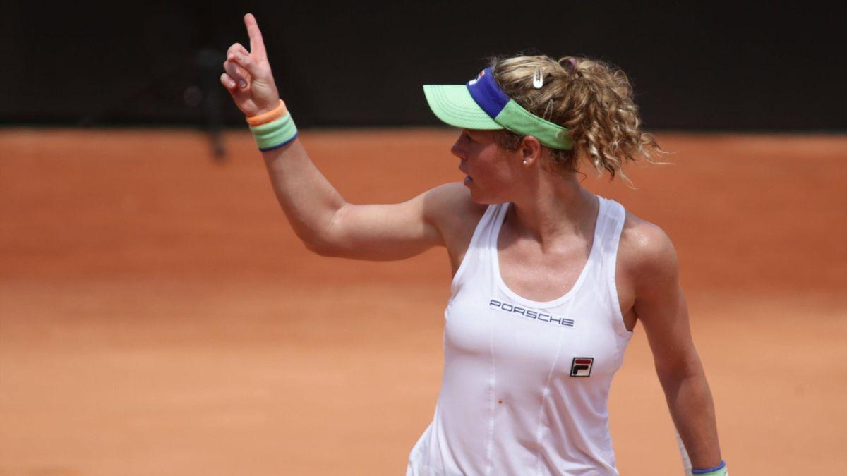 Laura Siegemund im Fed Cup