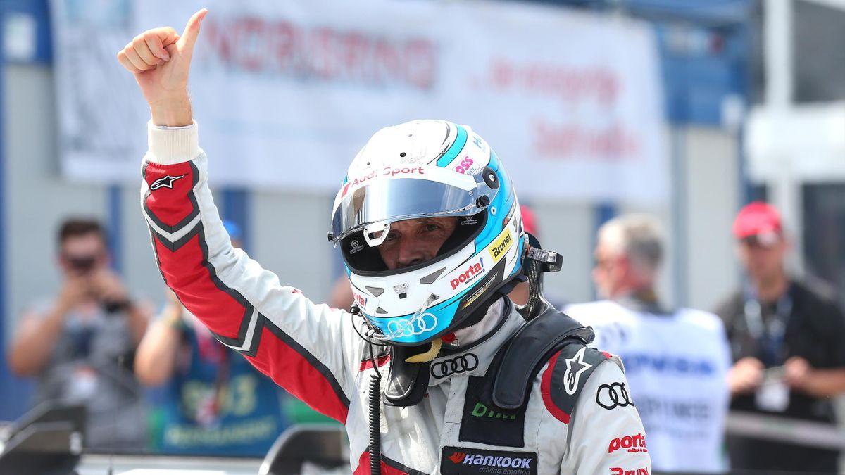 In Berlin bei der Formel E dabei: DTM-Pilot René Rast