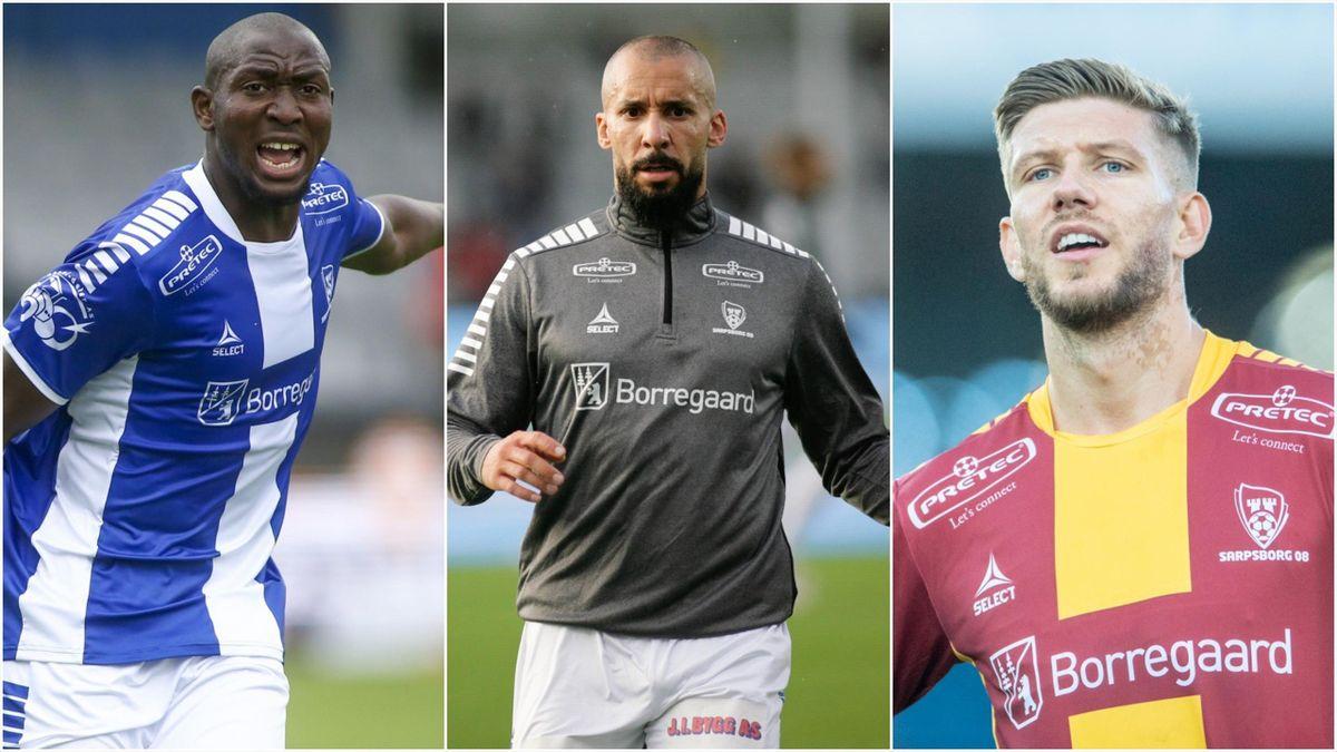 Ibrahima Koné, Guillermo Molins og Anton Salétros.
