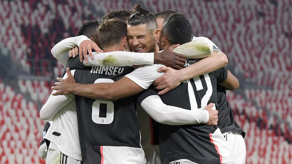 Ramsey a marcat un gol în ultimul meci al lui Juventus înainte de oprirea sezonului, 2-0 cu Inter Milano