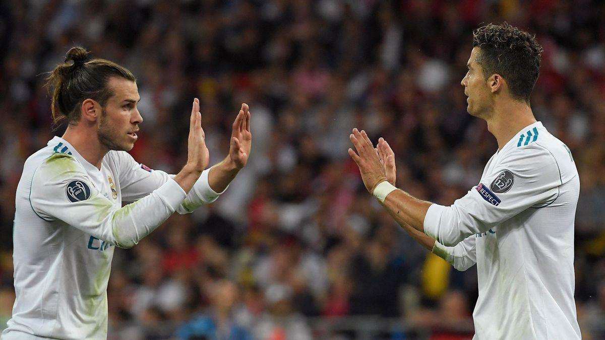 Bale og Ronaldo