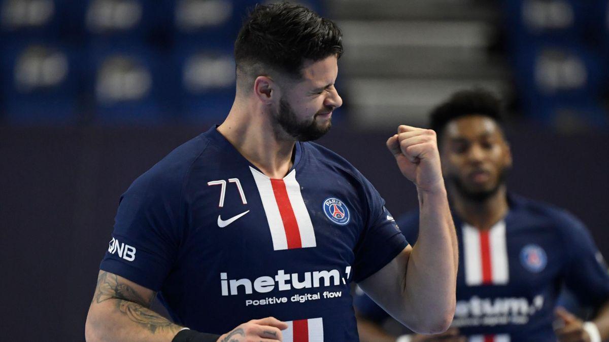 Très expressif lors de la victoire du PSG face à Veszprem lors du Final Four, Elohim Prandi compte bien poursuivre sur ces bases jusqu'à la fin de la saison avec Paris