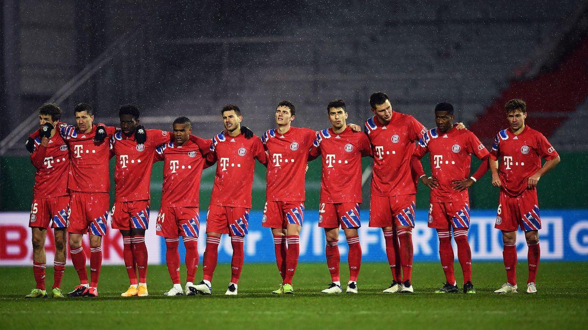 Der FC Bayern scheitert im DFB-Pokal bei Holstein Kiel (2:2, 5:6 i.E.)