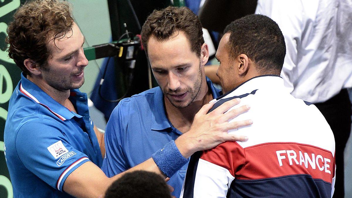 Coupe Davis 2014 France Llodra Benneteau Tsonga