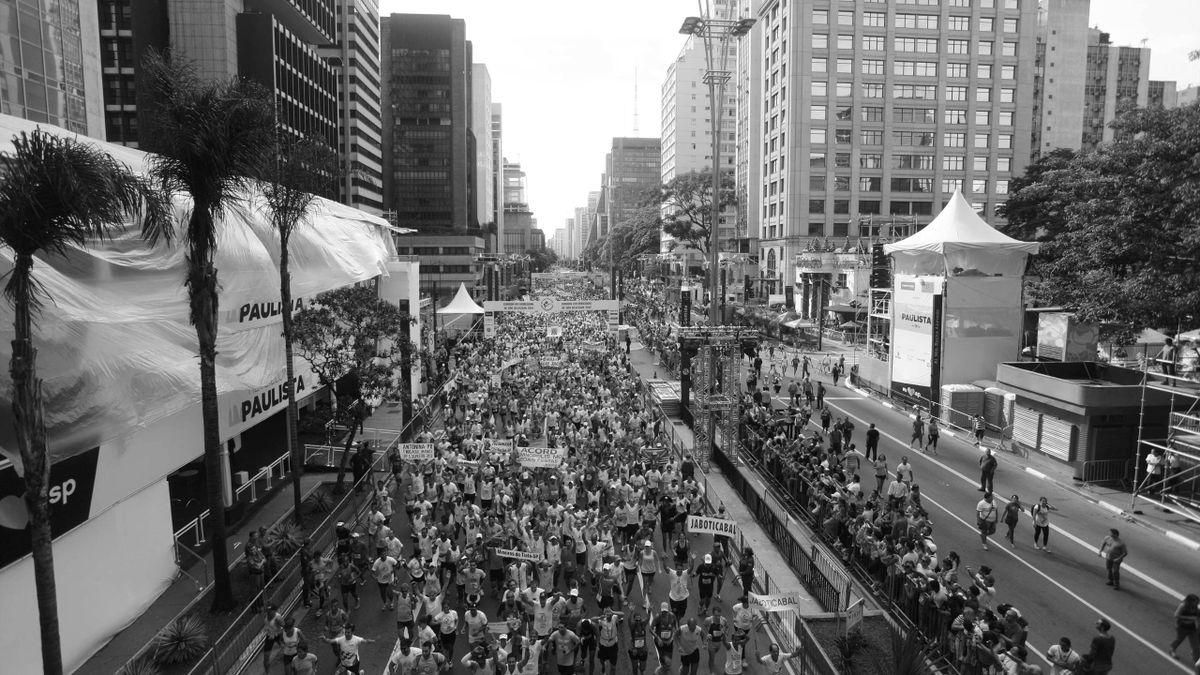 Symbolbild: Sao-Silvestre-Lauf in Sao Paulo