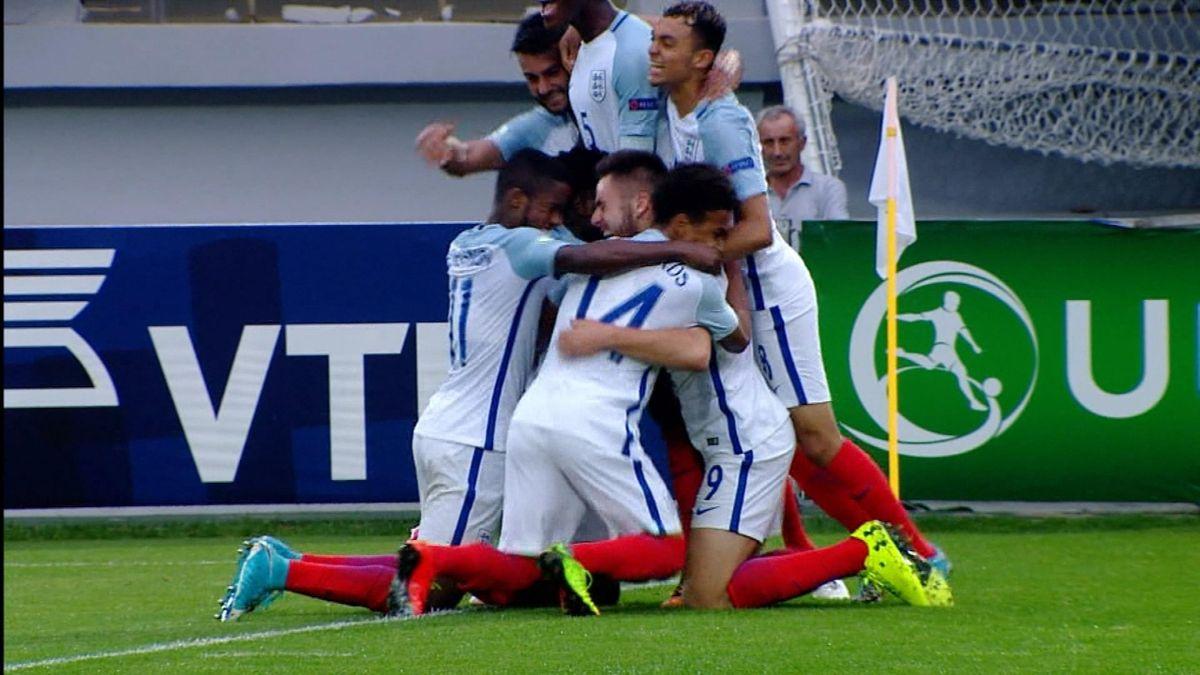 U19 Hlts : England vs Netherlands