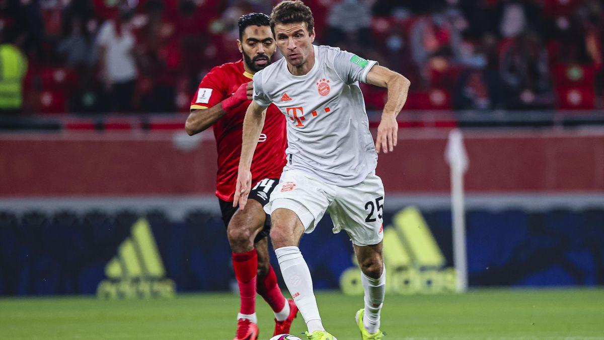 Thomas Müller (FC Bayern München) bei der Klub-WM in Aktion