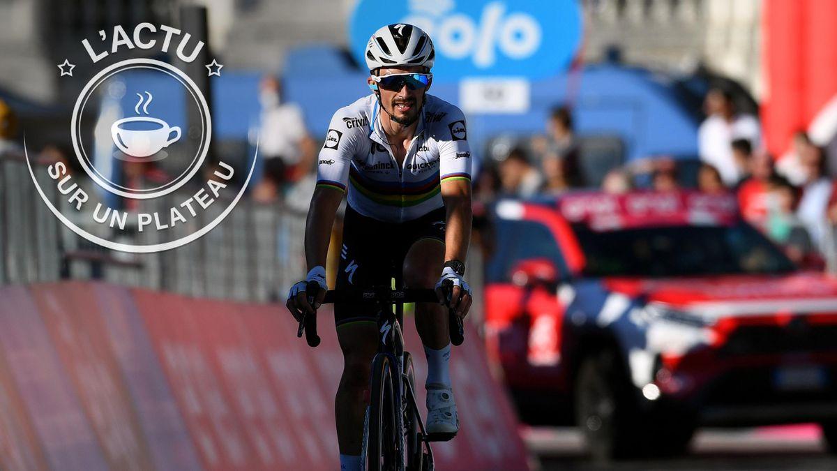 Julian Alaphilippe fait la Une de notre plateau avant le Tour de Lombardie