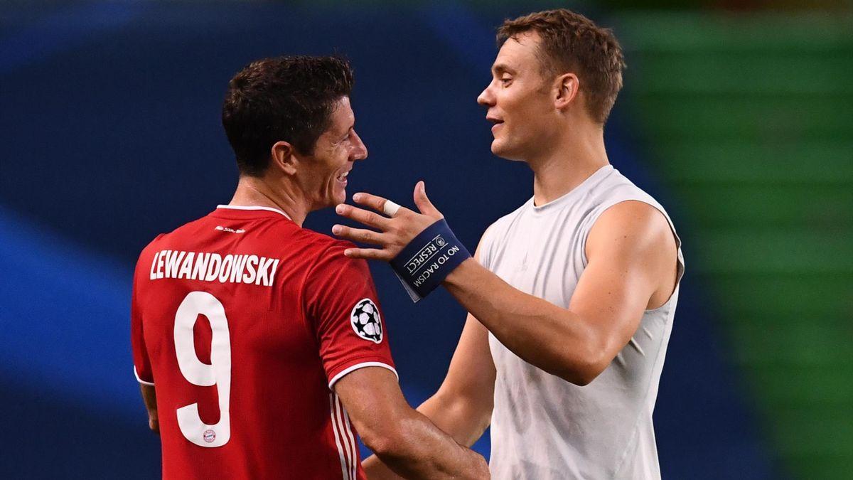 Robert Lewandowski i Manuel Neuer to filary Bayernu Monachium