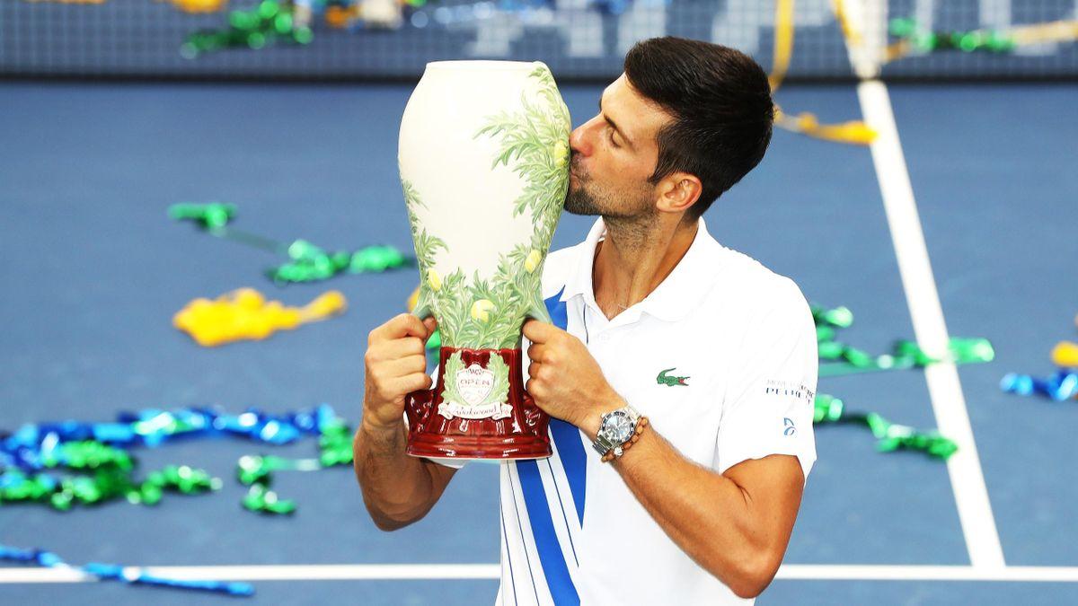 Novak Djokovic gewinnt das Cincinnati Masters in New York