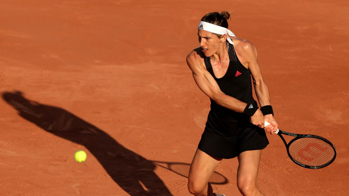 Andrea Petkovic bei den French Open in Paris