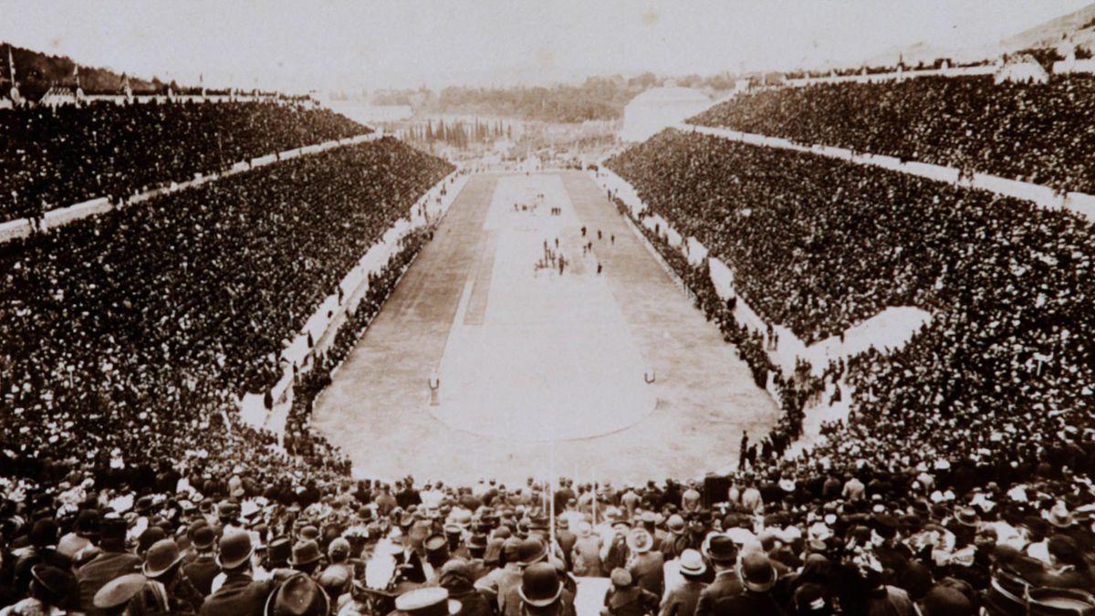 Olimpiai stadion, Athén 1896