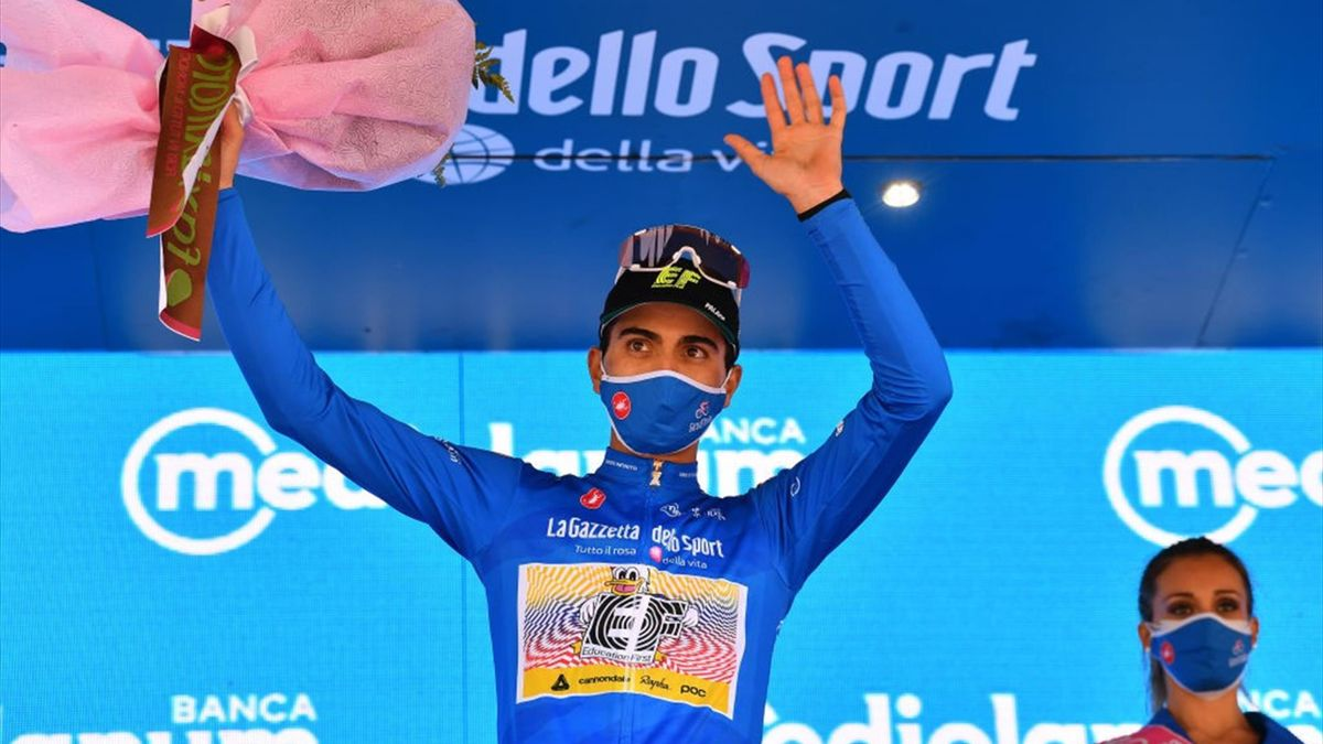 Ruben Guerreiro - Giro d'Italia 2020, stage 13 - Getty Images