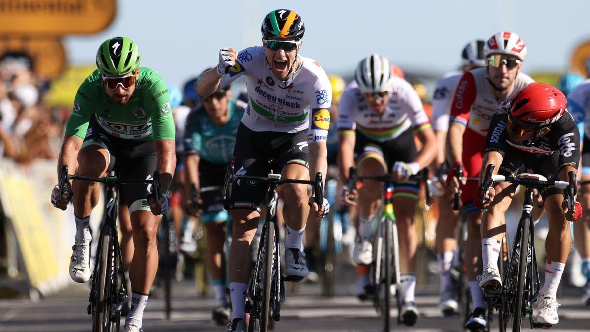 Sam Bennett, victorie superbă în etapa a 10-a din Turul Franței 2020