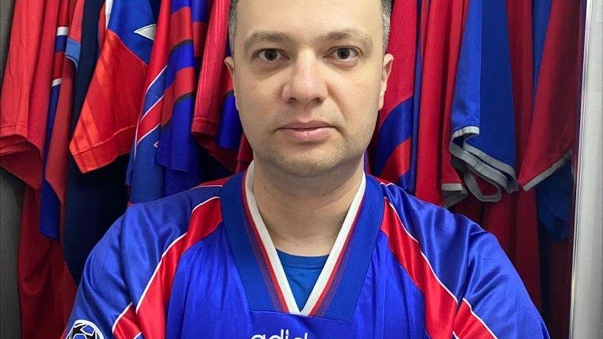 Petru Ionuț, suporter al FCSB