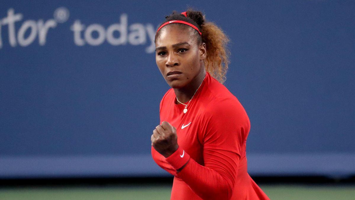 Serena Williams siegt bei Comeback in Cincinnati