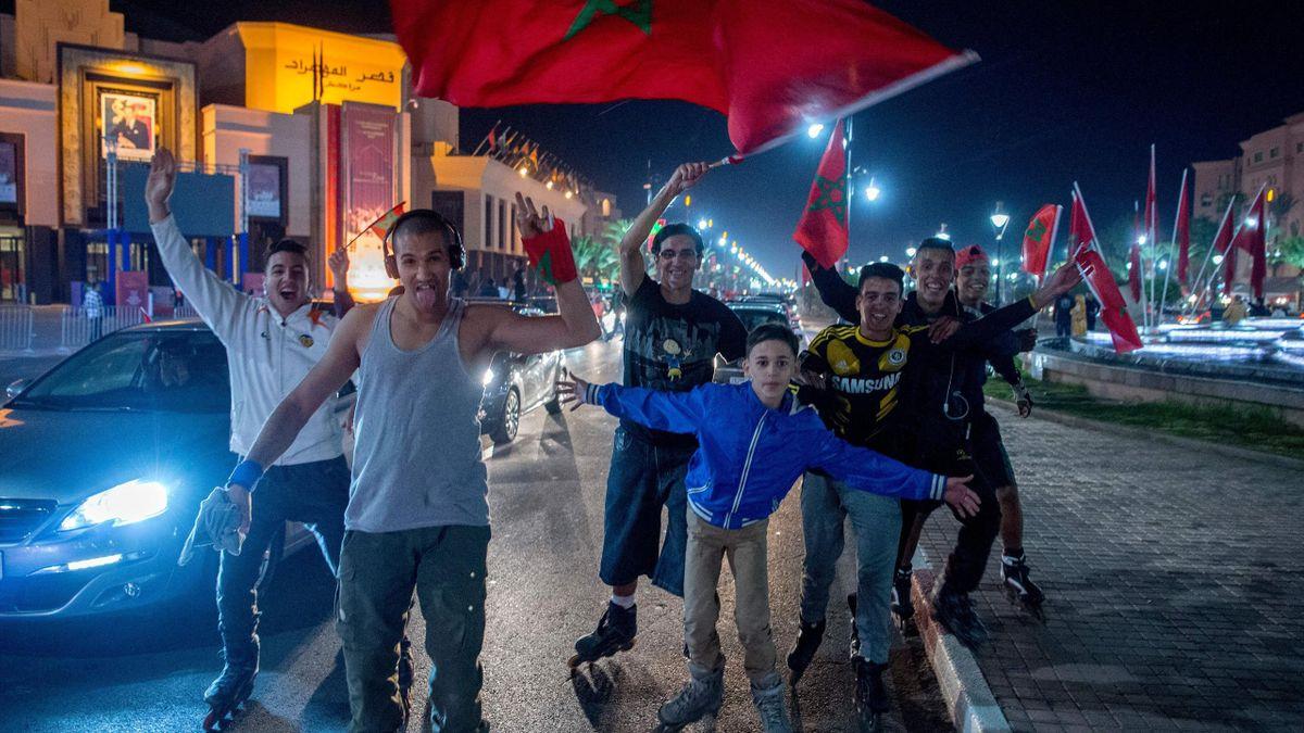 Марокканские фанаты
