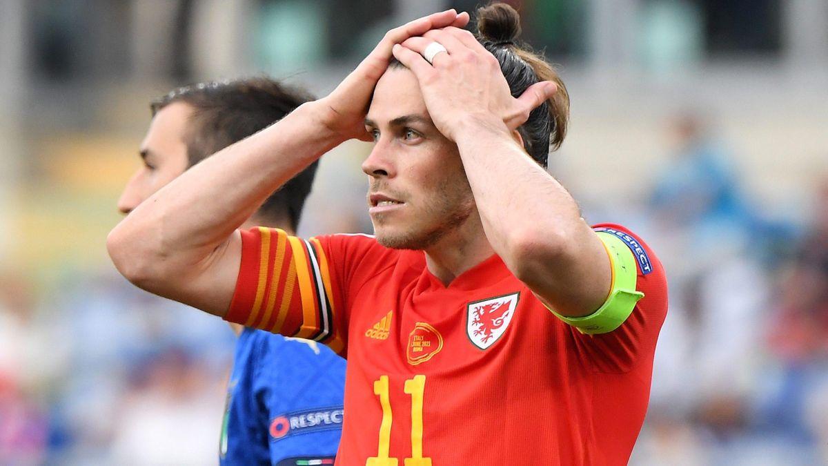 Gareth Bale (Pays de Galles) contre l'Italie / Euro 2020