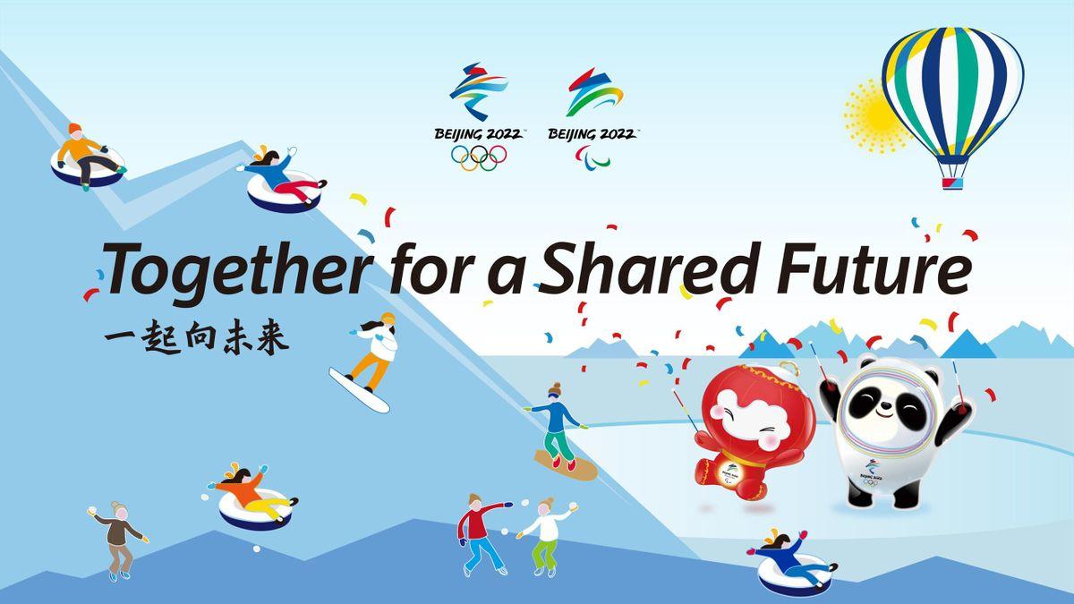 """""""Insieme per un futuro condiviso"""": ecco il motto di Pechino 2022"""