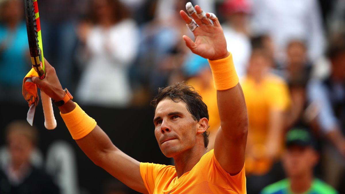 Rafael Nadal este deținătorul trofeului la Roma, dar și sportivul cu cele mai multe titluri câștigate în Cetatea Eternă (9)