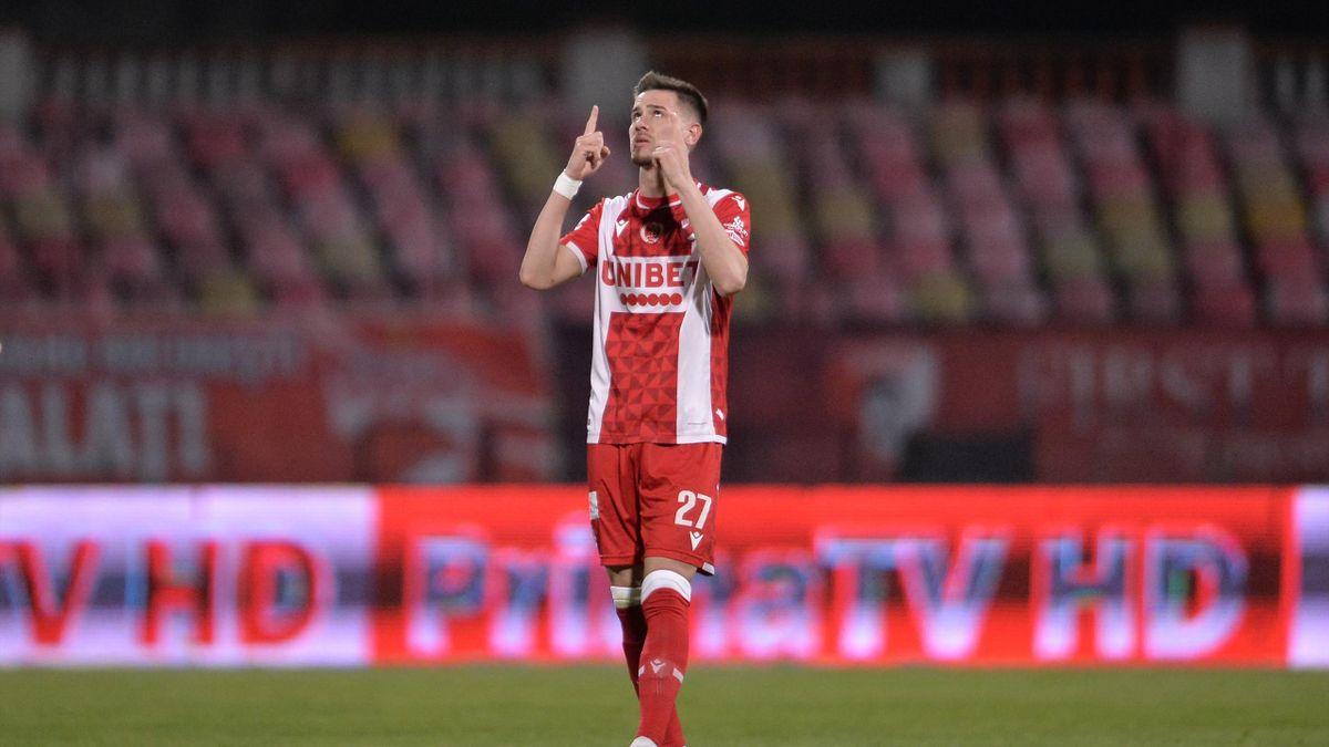 Ricardo Grigore (22 ani, Dinamo) este dorit de Cagliari. Sursa foto: Mediafax