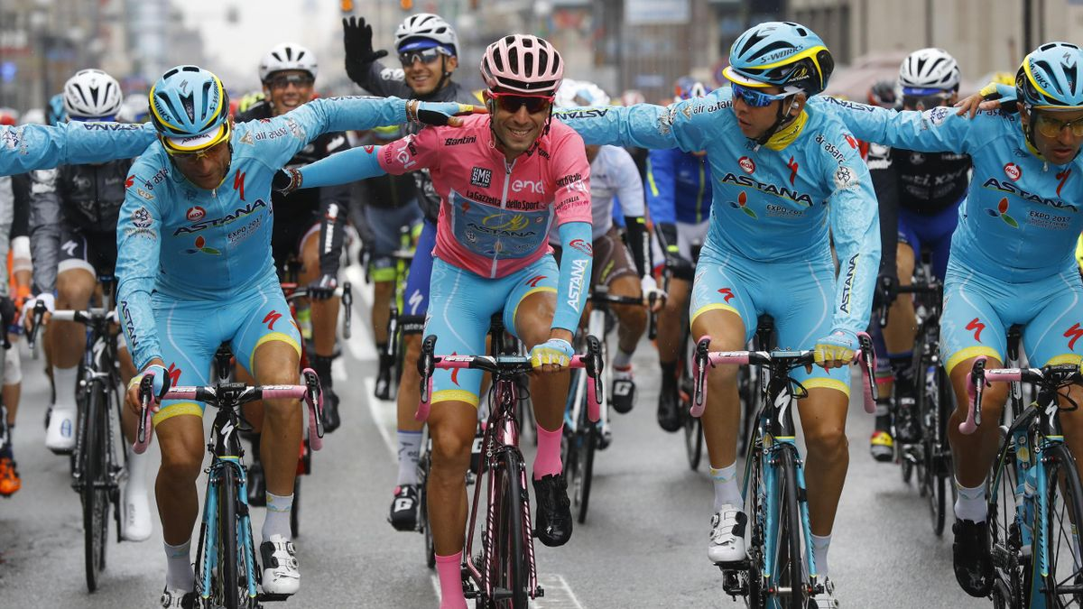 Sieger Vincenzo Nibali beim Giro d'Italia 2016