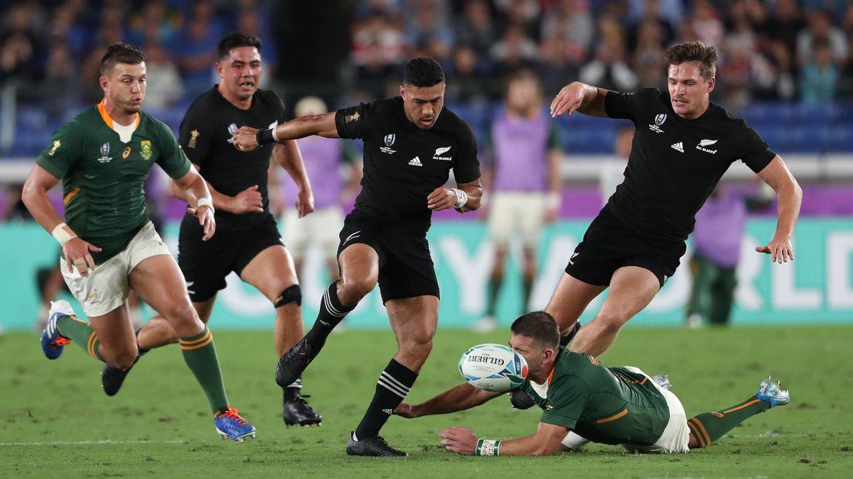 Neuseeland gegen Südafrika   Rugby-WM
