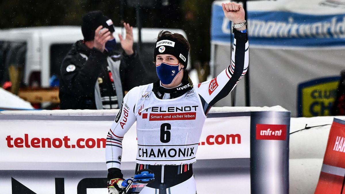 Clément Noël à Chamonix