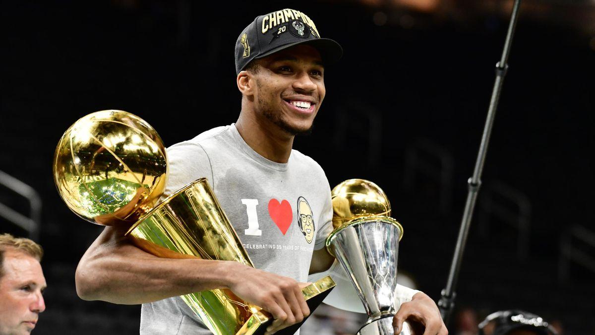Antetokoumpo, campeón de la NBA