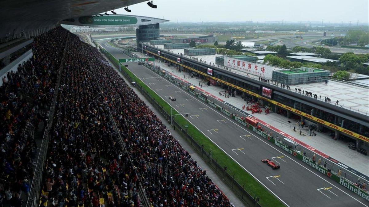 Le Grand Prix de Chine 2019 (Formule 1)