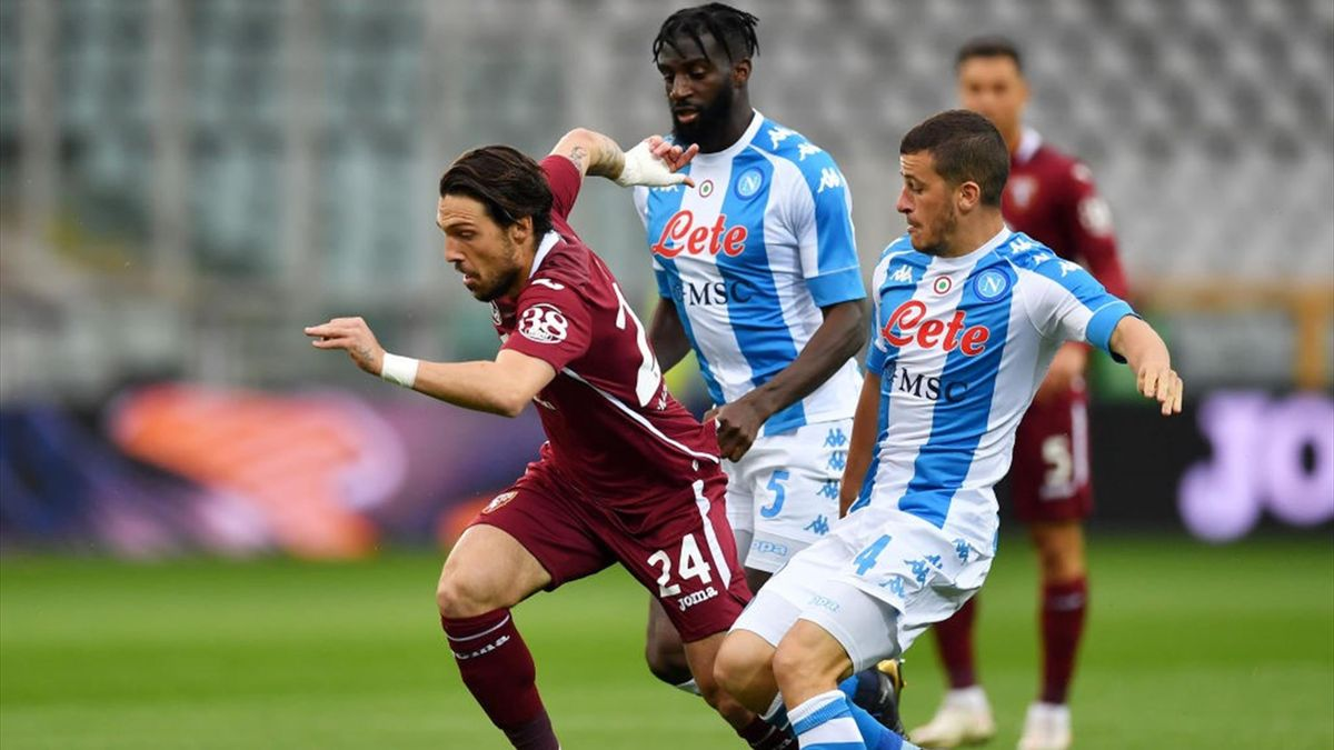 Demme in pressing su Verde - Torino-Napoli - Serie A 2020/2021 - Getty Images
