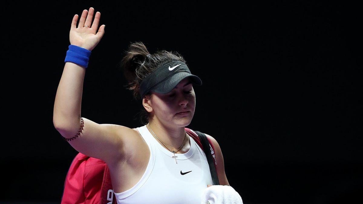 Bianca Andreescu wird 2020 keine Turnier mehr spielen