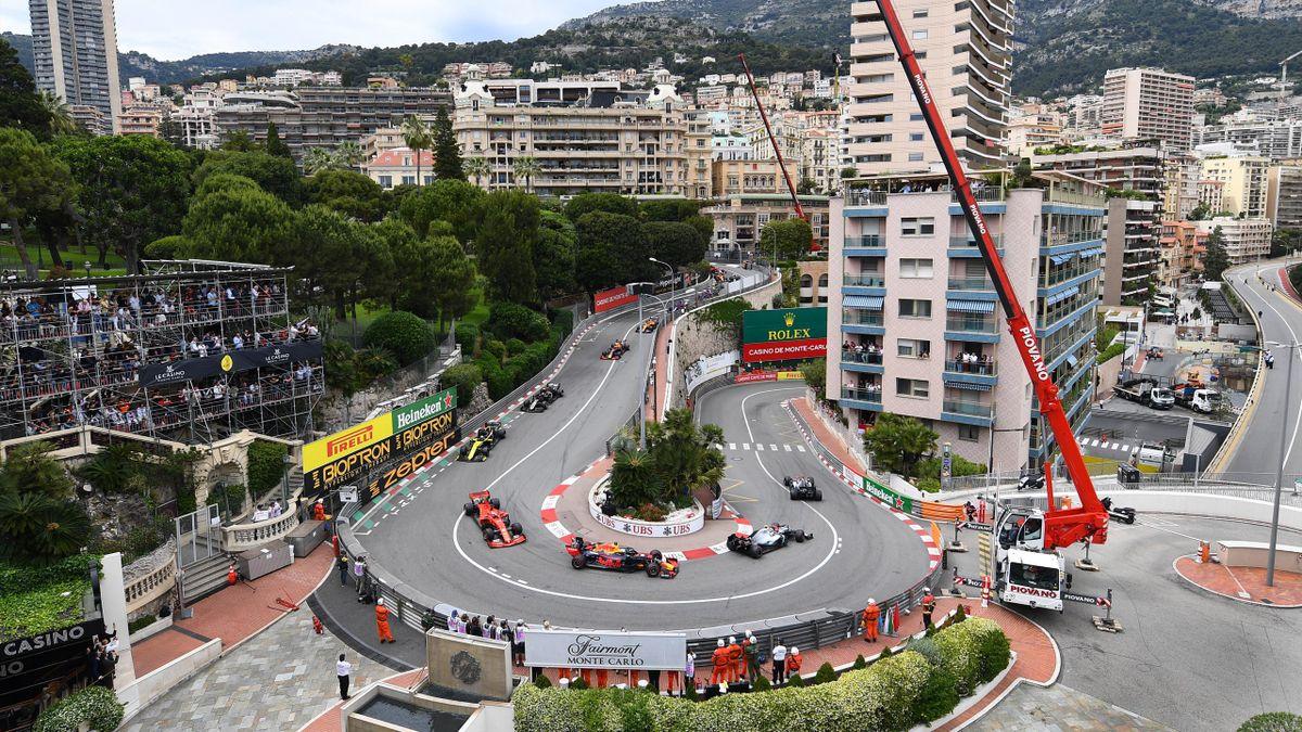 L'épingle du circuit du Grand Prix de Monaco 2019