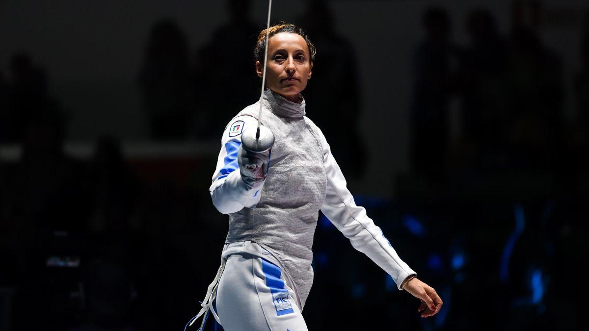 Elisa Di Francisca alle Olimpiadi di Rio