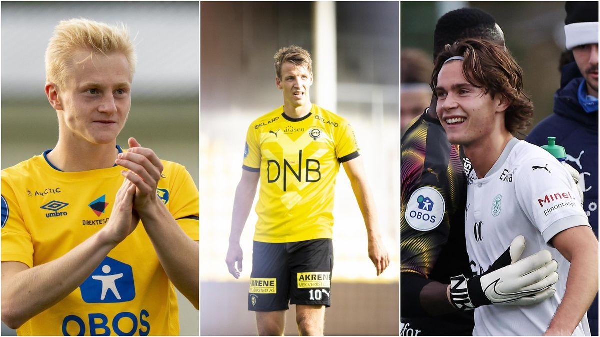 Oscar Aga, Thomas Lehne Olsen og Markus Solbakken.