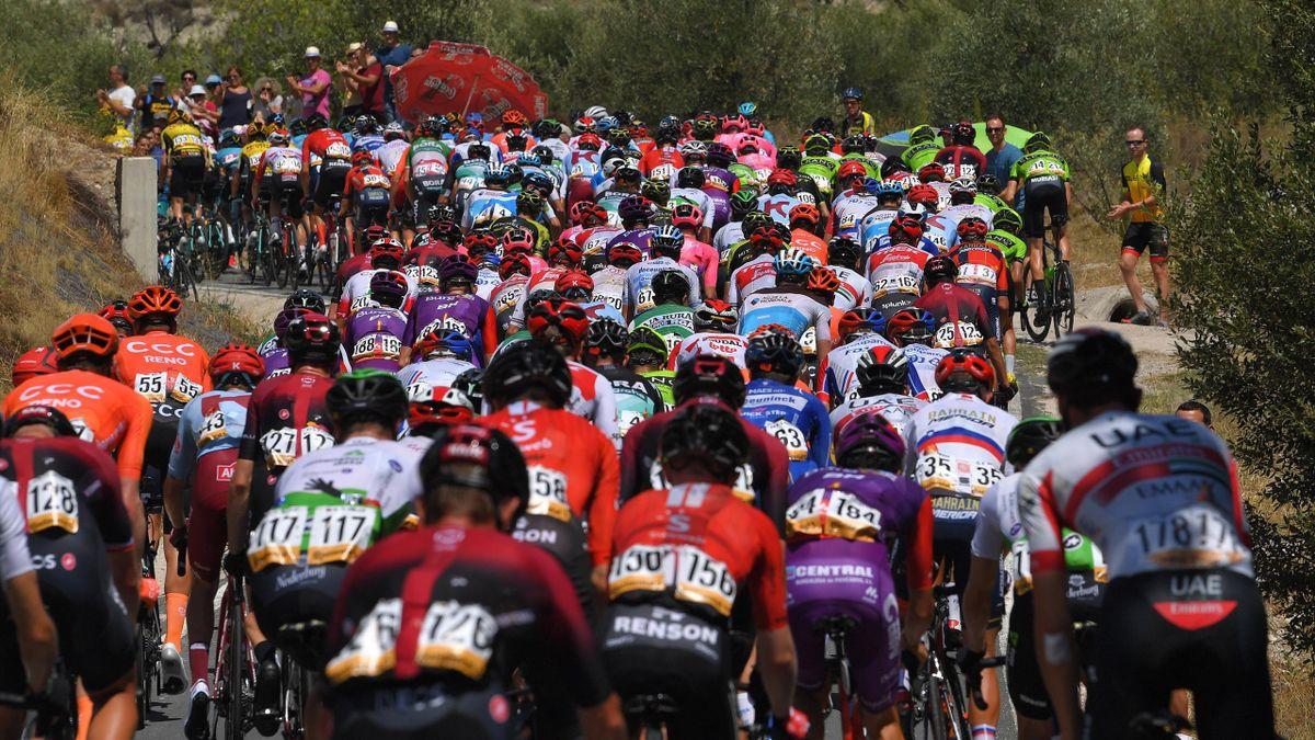 Das Fahrerfeld der Vuelta
