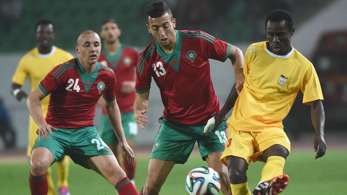 Match entre le Maroc et le Bénin, en novembre 2014