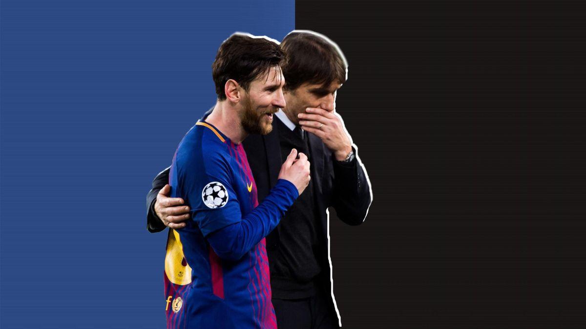 Conte ar fi încântat de o colaborare cu Messi, dar este sceptic în privința unui astfel de trasfer
