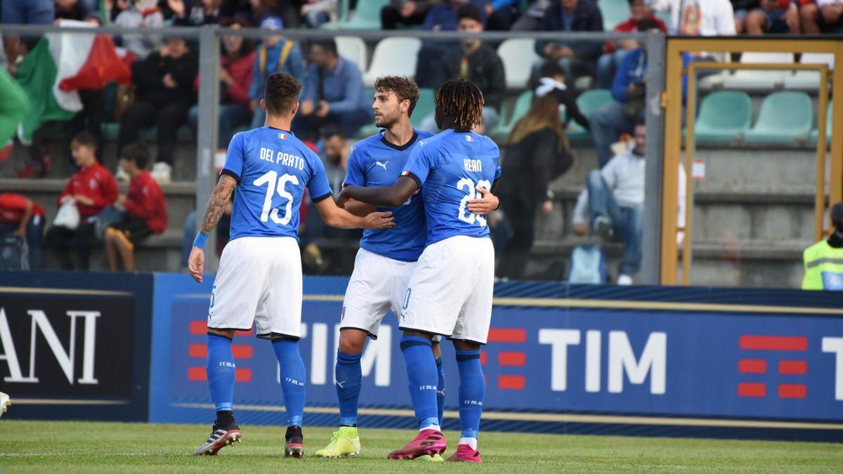 Locatelli e Kean, Italia Under 21 nel 5-0 sul Lussemburgo