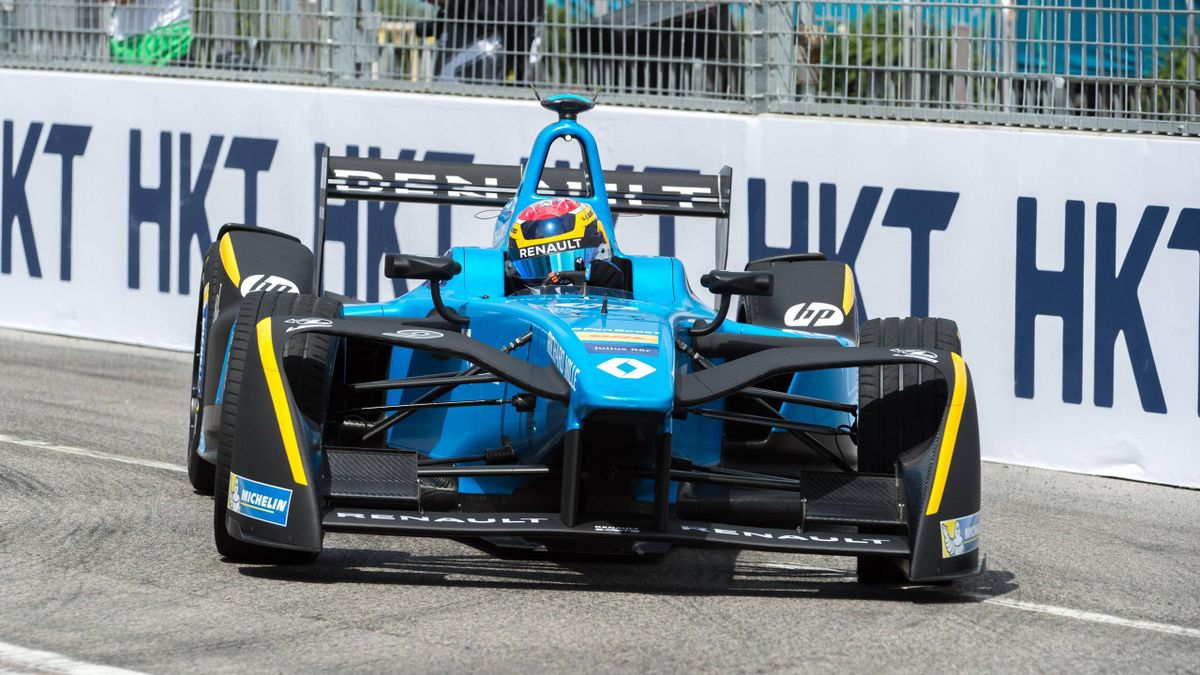 Sebastien Buemi in der Formel E