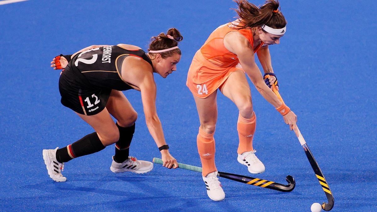 Tokyo 2020   Nederlandse hockeysters sluiten poulefaes af met winst op Duitsland