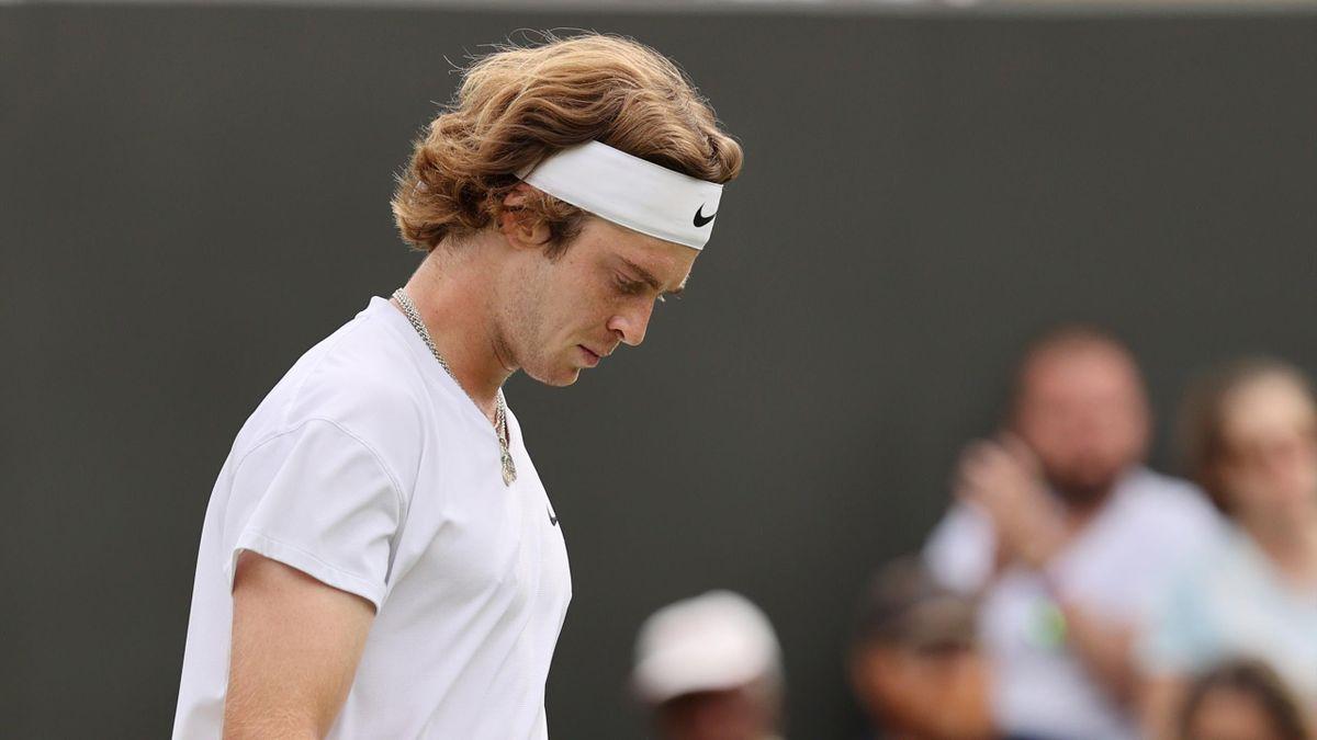 Andrey Rublev a Wimbledon 2021: sconfitto da Fucsovics agli ottavi di finale