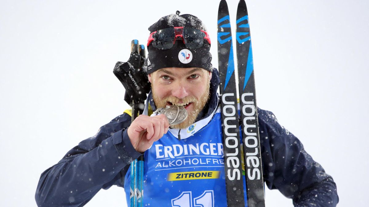 Antonin Guigonnat, vice-champion du monde de mass-start en 2019