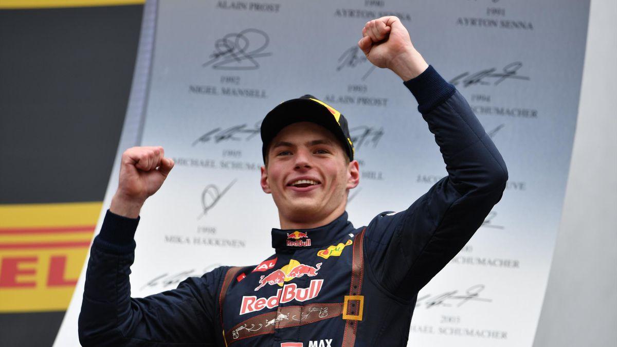 Max Verstappen (Red Bull) au Grand Prix d'Autriche 2016