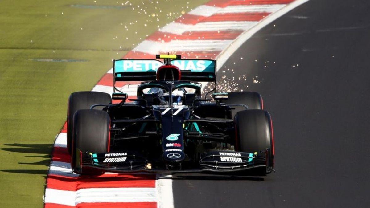 Valtteri Bottas (Mercedes) au Grand Prix de l'Eifel 2020