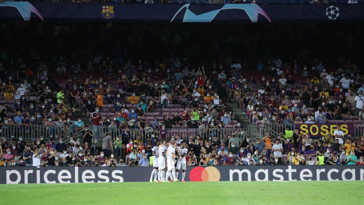 Fans im Camp Nou