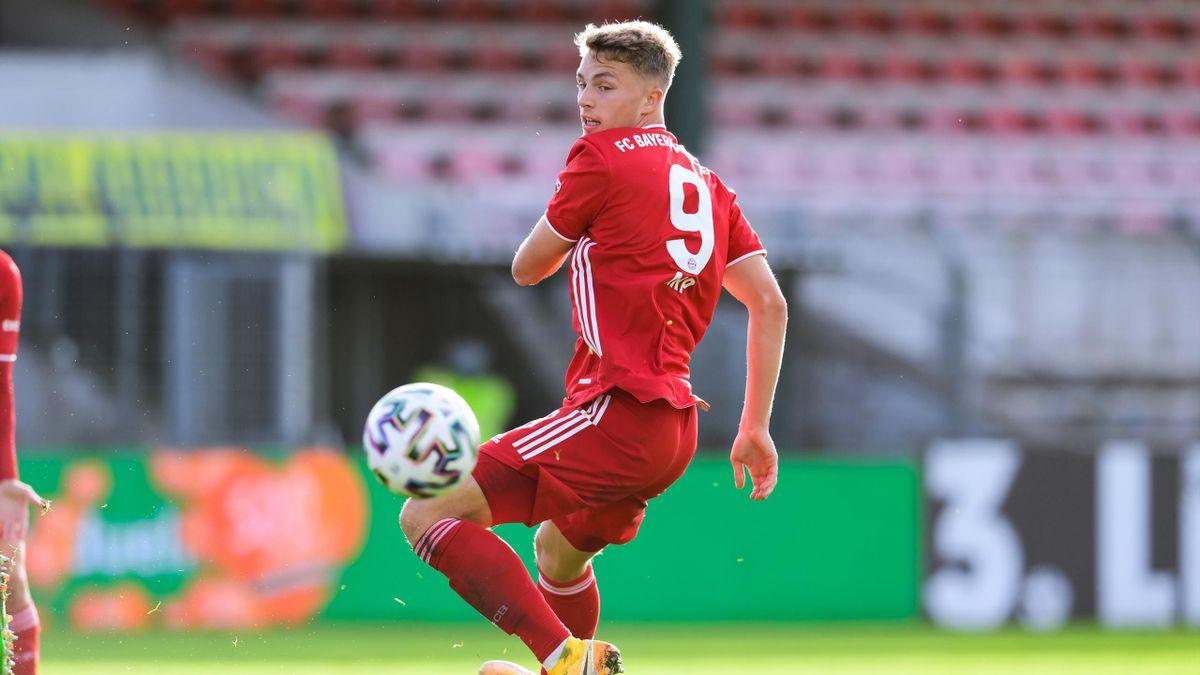 Fiete Arp spielt beim FC Bayern in der zweiten Mannschaft
