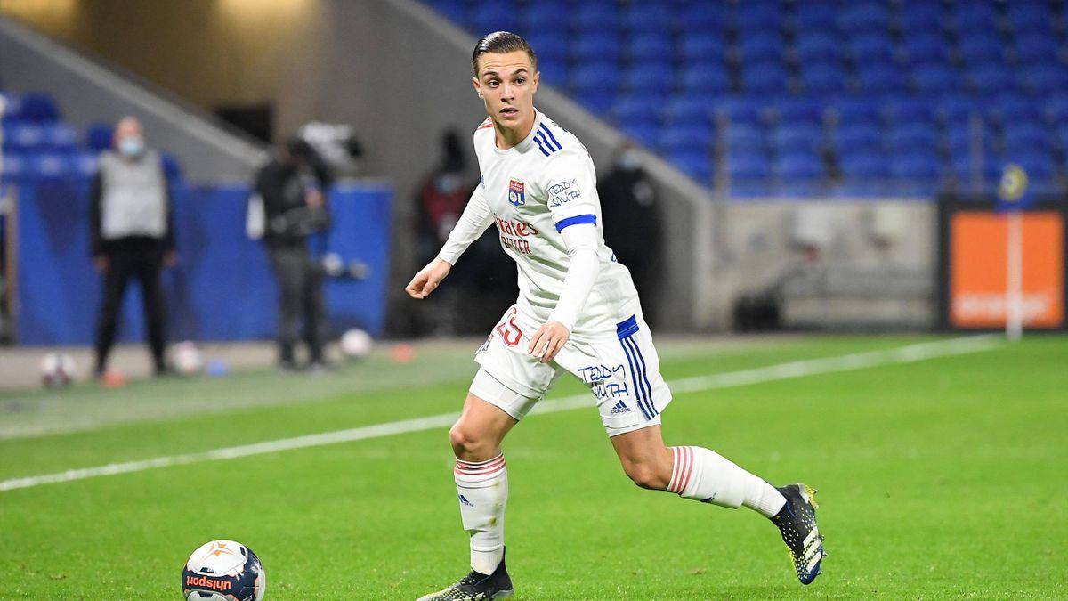 Maxence Caqueret, très bon avec Lyon, mais aussi très peu utilisé cette saison