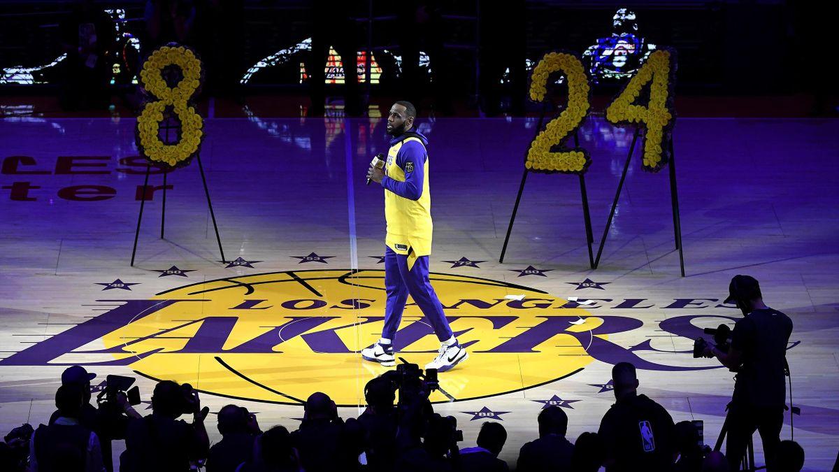 Discours de LeBron à Kobe