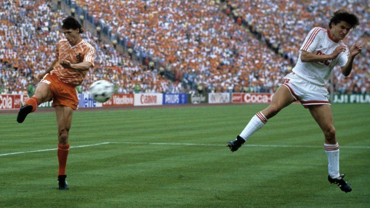 Marco van Basten și golul cu URSS, unul dintre cele mai celebre reușite din istorie